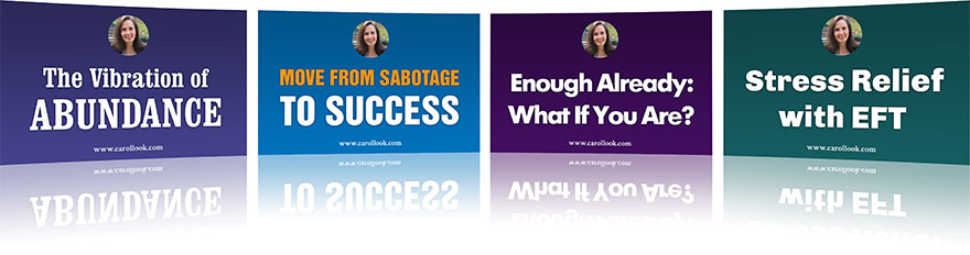 Move From Sabotage to Success Package